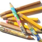 Konstrukcje z rolek i ołówków